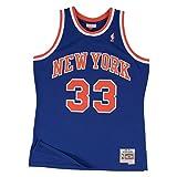 Patrick Ewing New York Knicks Mitchell & Ness NBA Throwback HWC Jersey - Blue