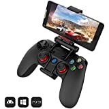 GameSir G3s Bluetooth Game Controller for Android Smartphone/Tablet, 2.4G Dongle Wired Gamepad for PC Windows/Samsung VR/TV Box/ PS3/ Oculus