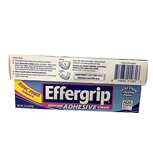 Special pack of 6 Effergrip Effergrip Cream 2.5 Ounce