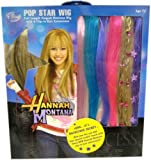 : Hannah Montana Wig and 6-Piece Snap Extensions Combo Set