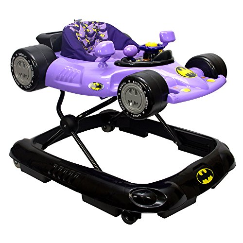 KidsEmbrace Batgirl Baby Activity Walker, DC Comics Car, Music and Lights, Purple, 5501BTG from KidsEmbrace