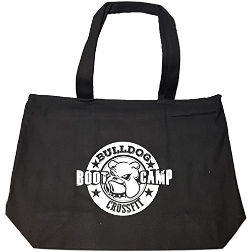 Bulldog Bootcamp - Tote Bag With Zip by URBANTURB