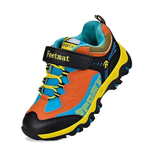 Feetmat Boys Shoes Outdoor Waterproof Hiking