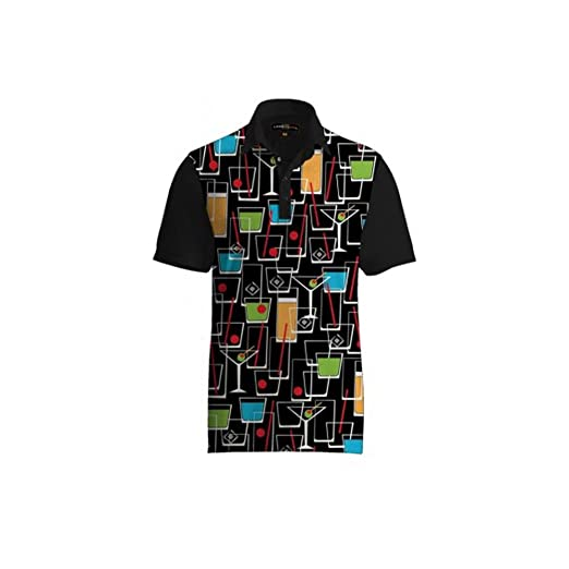 e9ad49495 Image Unavailable. Image not available for. Color  Loudmouth Golf Happy  Hour Fancy Shirt L