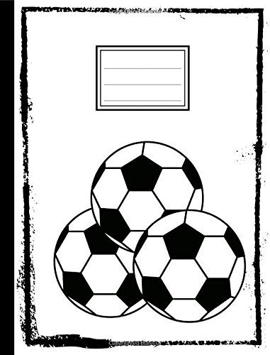 """Soccer Ball Composition Book: Sports Theme, 5 x 5 Graph Ruled Paper, Grid Rule Journal, Math Graphing Paper, Personal Notebook, Softcover, 100 sheets/200 pages,Standard size, 7.44"""" x 9.69"""" ebook"""