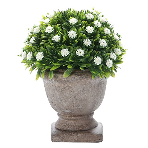 HC STAR Artificial Plant Potted Mini Fake Plant Decorative Lifelike Flower Green Plants - 1304