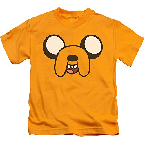 T Shirt oro Jake Adventure Time Head giovanile Rq5c4w