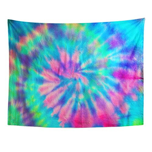 Purple Swirl Tapestry - TOMPOP Tapestry Green 70S Swirl Spiral Pattern Tie Dye Pink Pastel Home Decor Wall Hanging for Living Room Bedroom Dorm 60x80 Inches