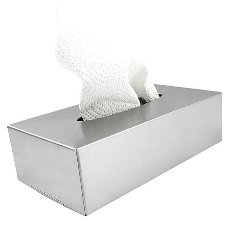 com-four® Caja cosmética de Acero Inoxidable, Adecuada para Montaje en Pared (Caja cosméticos - 001 Piezas de Acero Inoxidable)