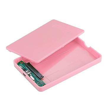 ASHATA Carcasa Disco Duro SSD/SATA USB 2.0/1.1(480Mbps),Caja ...