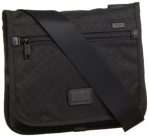 Tumi Alpha Small Flap Body Bag 022105DH,Black,one size