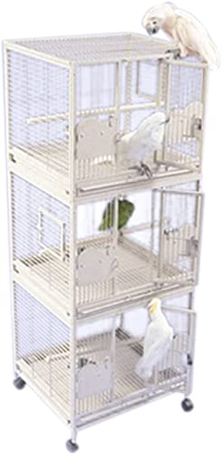 A E Medium Triple Stack Bird Cage