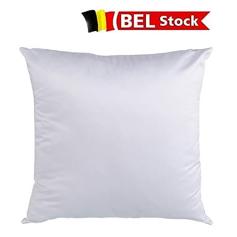 Bélgica Stock, 50pcs/caja Blanco de la sublimación en blanco ...