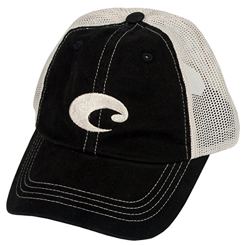 Costa Del Mar Mesh Hat, Black - Sunglasses Baseball Hat
