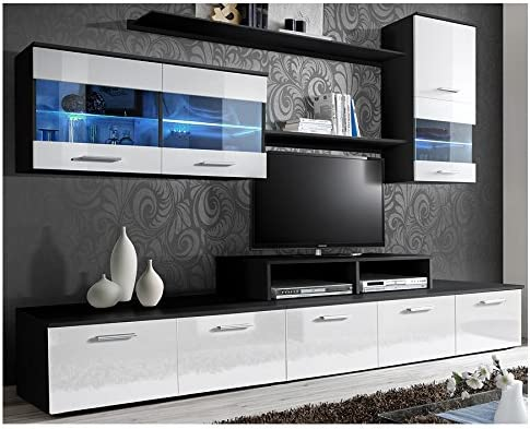 Domovero Kanto TV - Mueble de Pared para televisores de Estilo ...