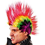 Home & Leisure Online - Multi color mohicano peluca rainbow punk rocker jonny rotten disfraces