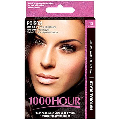1000 Eyelash Permanent Mascara Black product image