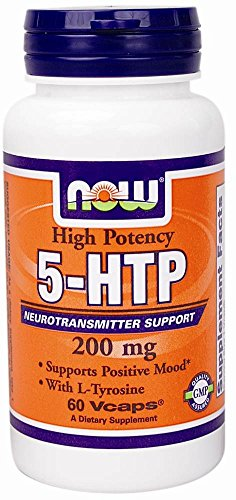 Now Foods 5-HTP 200 mg - 60 Vcaps