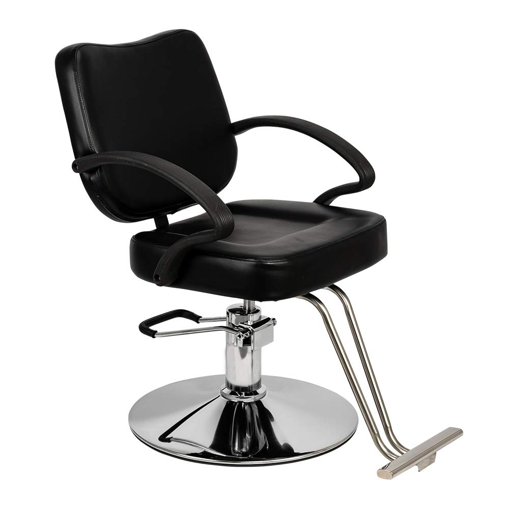 Mefeir Hydraulic Styling Chair Heavy Duty for Hair Salon, Hairdressing Chair Barber Shop Beauty Tattoo Equipment by mefeir