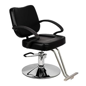 Amazon.com: Mefeir - Silla hidráulica de peluquería para ...