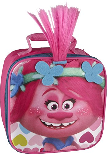 Thermos Licensed Novelty Lunch Kit, Trolls - Poppy - Face Box Lunch