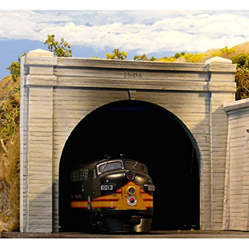 - Chooch Enterprises HO Scale Double Concrete Tunnel Portal