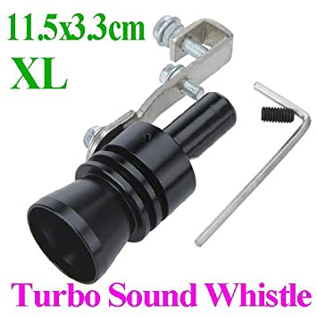Inflagen (TM) Universal coche Turbo sonido silbato tubo de escape falsos de escape Bov