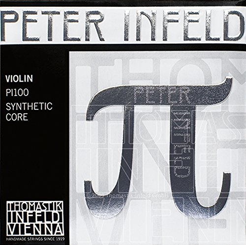 - Thomastik Peter Infeld 4/4 Violin Strings Set with Platinum E