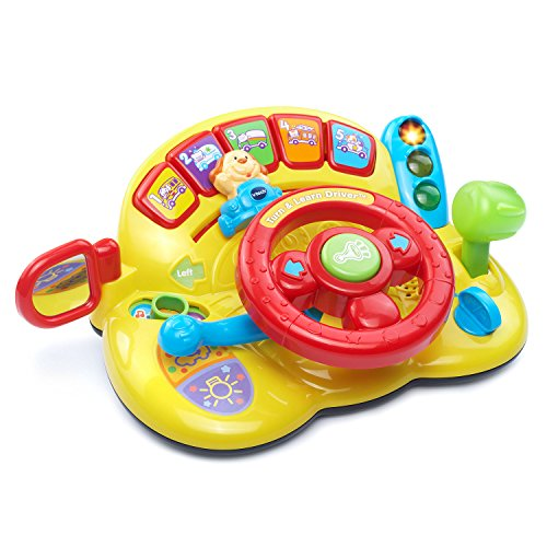 VTech Turn and Learn Driver (Frustration Free Packaging) (Games To Play With 6 Month Old Baby)