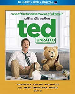 Cover Image for 'Ted (Unrated Blu-ray + DVD + DIGITAL with UltraViolet)'