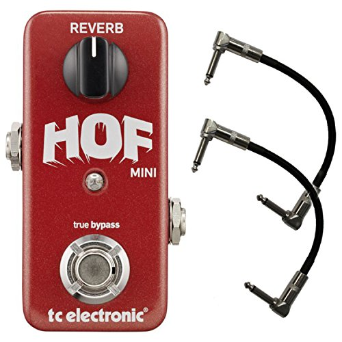 TC Electronics Hall of Fame Mini Reverb HOF w/ 2 Cables by TC Electronic