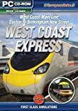 West Coast Express Part 1: London to Birmingham - Add-On for MS Train Simulator (PC CD) [import anglais]