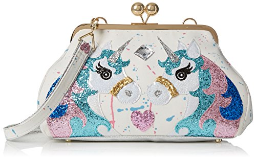 PonyBorse X H Irregular A Magic Cmw Choice Tracolla L DonnaWhitewhite Multi16x21x34 3A45RjLq