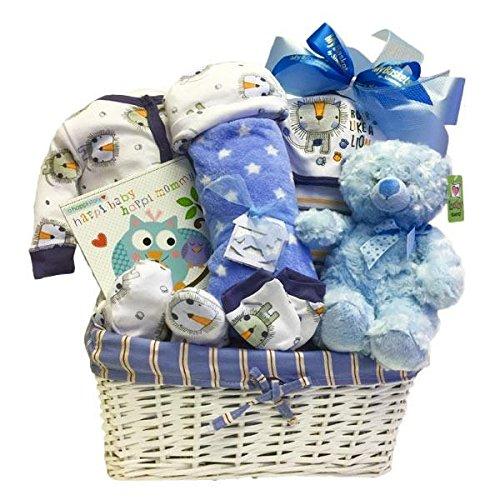 Newborn Baby Boy Gift Basket Simontea Gift Baskets