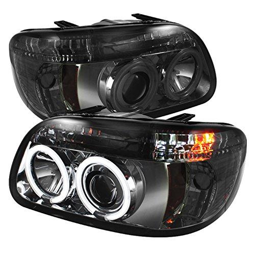 Spyder Auto PRO-YD-FEXP95-CCFL-1PC-SM Ford Explorer Smoke CCFL Halo Projector -