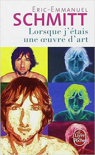 Lorsque J Etais Une Oeuvre D Art Ldp Litterature French