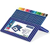 Staedtler Ergosoft Aquarell 156 SB24 Triangular Watercolour Pencils - Assorted Colours (Box of 24)