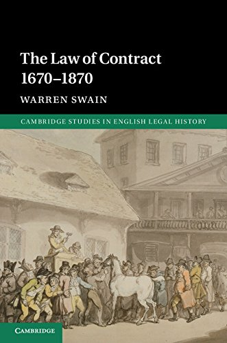 Download The Law of Contract 1670-1870 (Cambridge Studies in English Legal History) Pdf
