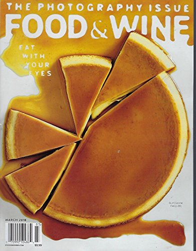 Food & Wine Magazine March 2018 FREE SHIPPING