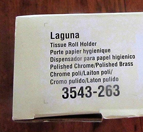 Amazon.com: Baldwin Hardware Accessories 3543 Baldwin Laguna Double Post Tissue Roll Holder Lifetime Finish: Home & Kitchen