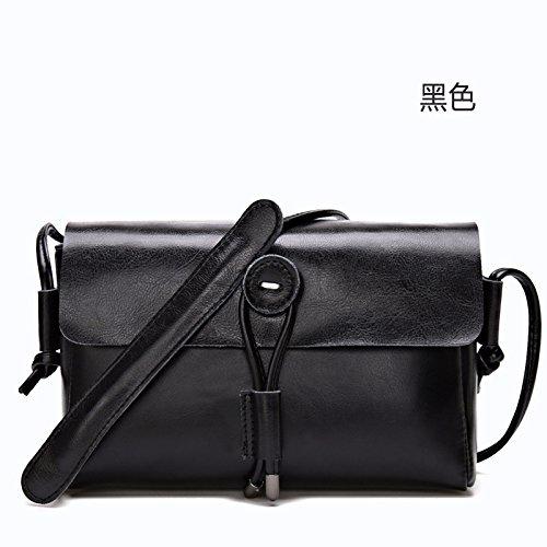 GUANGMING77 Einfache Und Elegante_Bangalor Und Diagonale Kleines Paket Beutel Singles black a7BqHn