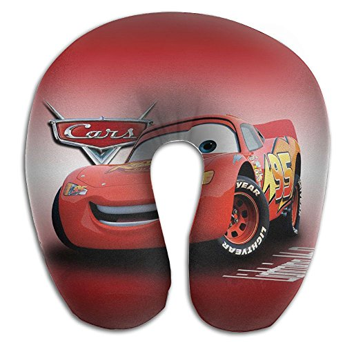 Cars 2 Lightning McQueen 3D Cotton Super Soft Cloth Cover Combined Ergonomic Design Soft And Smooth Featuring A U-type Structure Release Neck And Shoulder - King Mcqueen Vs