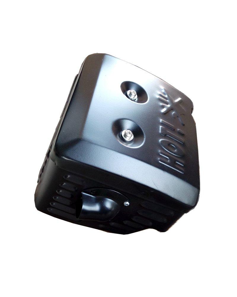Parts Club Muffler Exhaust Assembly Fits Honda GX340 GX390 11HP /& 13HP Head Shield Manifold Two Gaskets