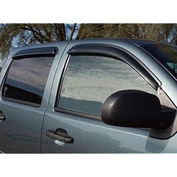 Stampede 6020-2 Tape-Onz Sidewind Deflector for Chevrolet//GMC 4-Door Smoke