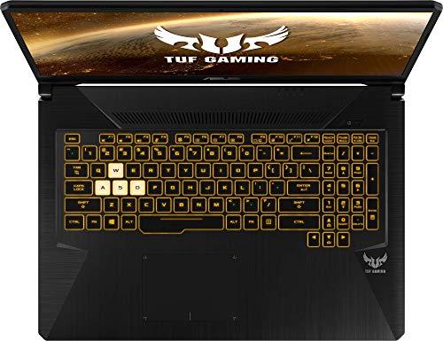 """ASUS TUF Gaming FX705DD-AU017 - Ordenador portátil de 17.3"""" (AMD Ryzen 7 3750H APU, 8 GB RAM, 512 GB SSD, NVIDIA GeForce GTX1050, sin Sistema operativo) Negro - Teclado QWERTY Español 9"""