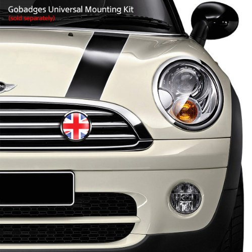 3 Magnetic Grill Badge//UV Stable /& Weather-Proof//Works Grill Badge Holder CD0222 GoBadges FLAG UK