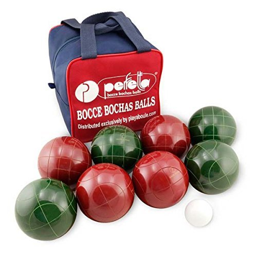 Perfetta Club Pro Bocce Ball Set-solid color- Made in Italy by Perfetta
