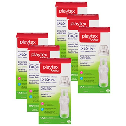 Playtex 05544 10 Oz Drop In Disposable Baby Bottle Liners 100 Count