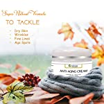 Owlpure 100% Natural, Organic & Handmade,Anti-Aging Cream for Face, Skin & Wrinkle dark spots Reduction Day And Night…