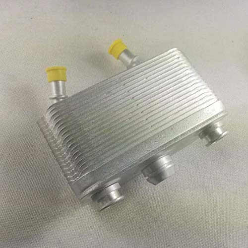 EMIAOTO 99-06 X5 E53 for BMW Automatic Transmission Oil Cooler 3.0i 4.4i 4.6is 17207500754 with Seals 17 20 7 500 754 17207500754